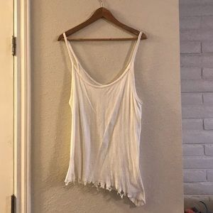 Free People We The Free destroyed tank top